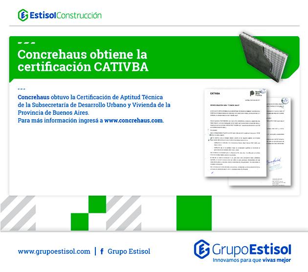 Certificación CATIVBA