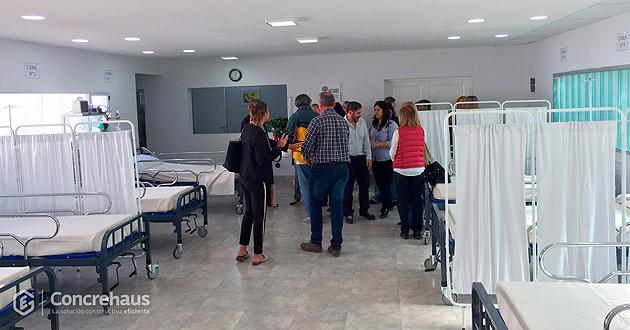 Donación materiales Concrehaus para Centro de Salud de Villa Rosa
