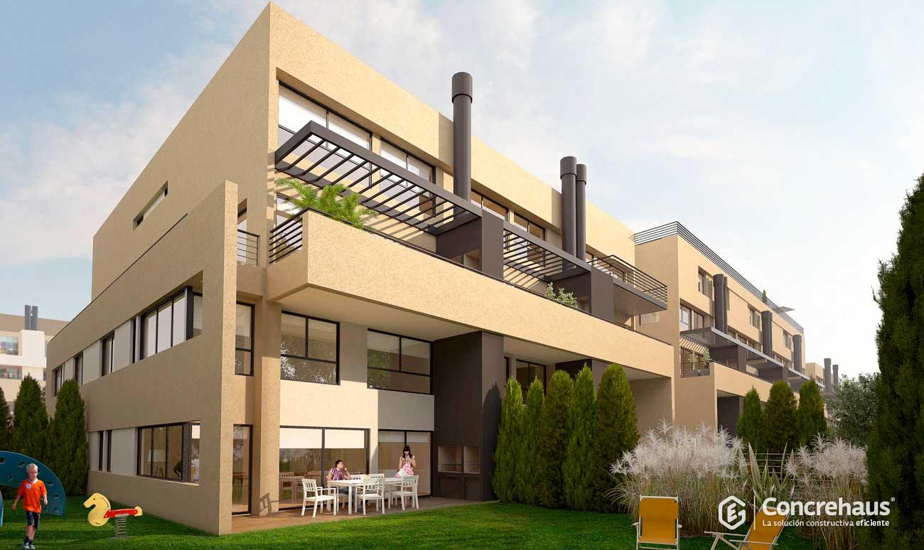 Conjunto de viviendas Nuevo Beccar Central