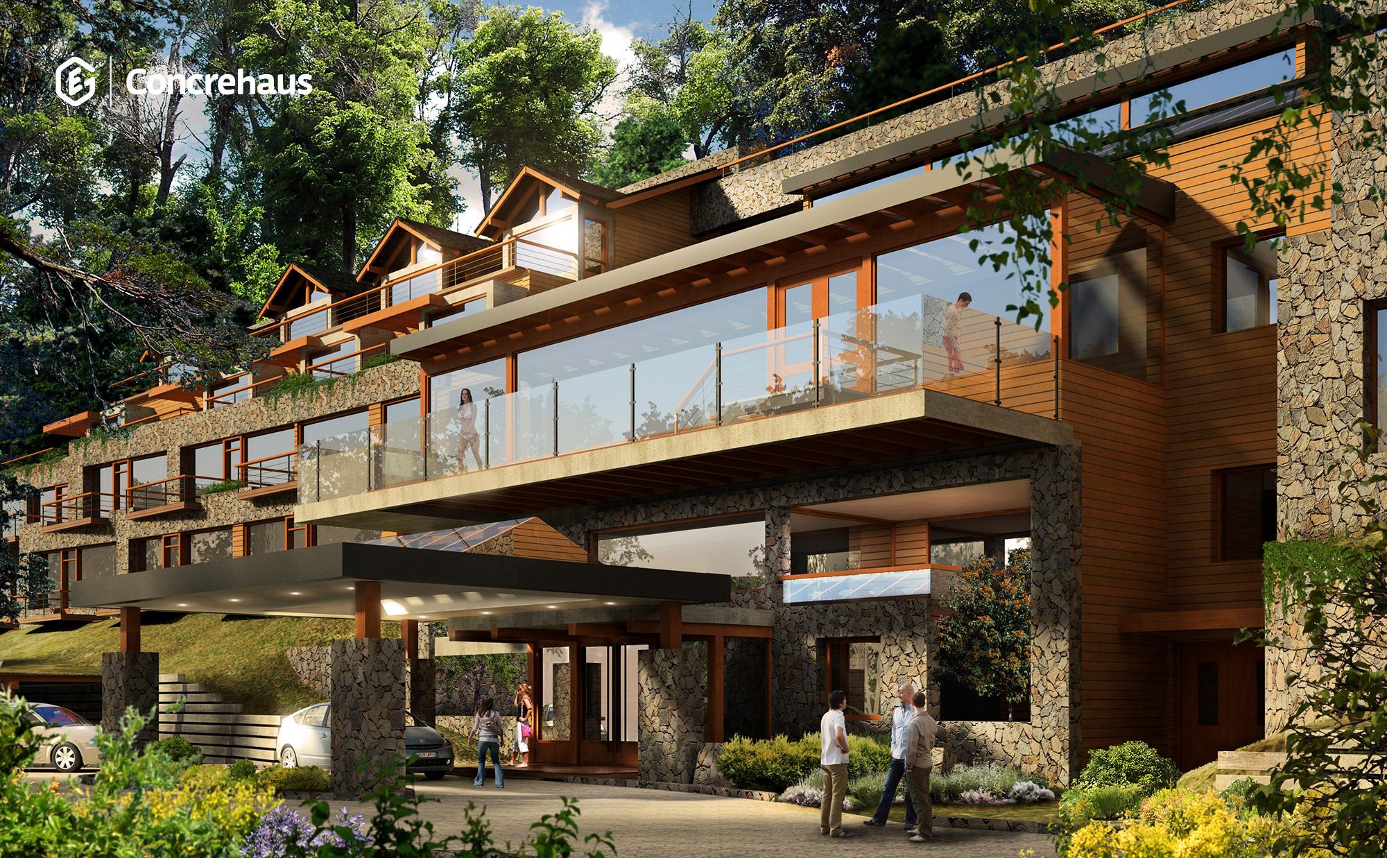 Complejo de departamentos - Villa La Angostura - Neuquen